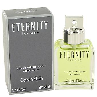 Calvin Klein Eternity Eau de Toilette 50ml EDT Spray