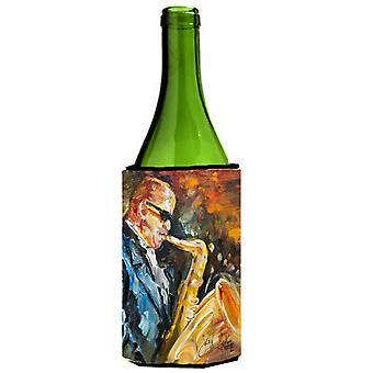 Jazz Saxophone Wine Bottle Beverage Insulator Hugger