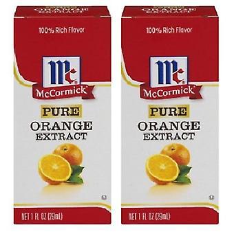 McCormick Pure pomarańczy ekstrakt 2 opakowanie butelki