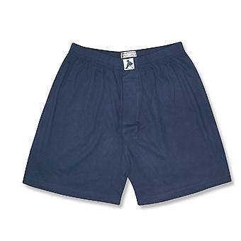 Biagio mænds Solid BOKSER 100% strikket bomuld Shorts