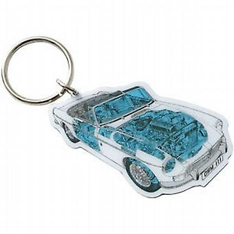 Official Haynes MG MGB Car Metal Keyring