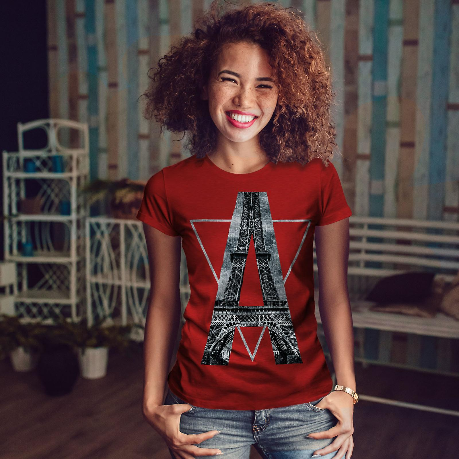 Paris historique Art RedT-chemise femme | Wellcoda