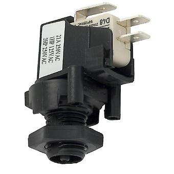 Herga 6871-AEO-U126 SPDT 20A Threaded latch Air Switch