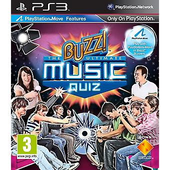 bourdonner! The Ultimate Music Quiz (PS3) - Factory Sealed