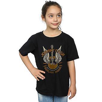 Johnny Cash filles interdisant la musique T-Shirt