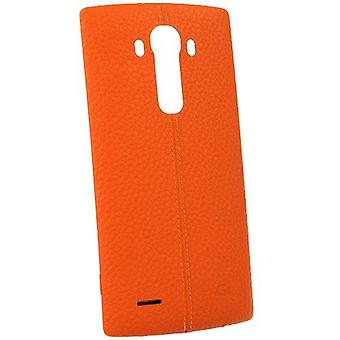 LG CPR-110 leather cover case for LG G4 H815 - orange