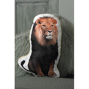 Adorable lion shaped cushion