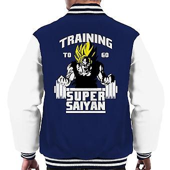 Dragon Ball Z opplæring gå Super Saiyaner menn Varsity jakke