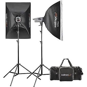 Walimex Pro VE 4.4 Excellence Studio flash set Power output (flash) 400 Ws