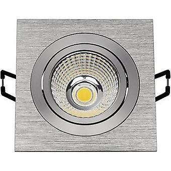 Novo Tria 113916 LED embutido luz 6.6 W quente branco alumínio (escovado)