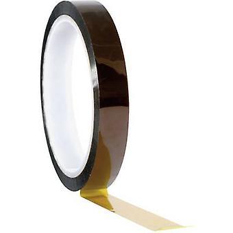 TOOLCRAFT 911XB1933C 911XB1933C Tape Amber (L x W) 33 m x 19 mm 1 Rolls