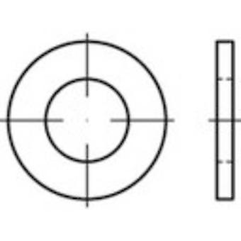 TOOLCRAFT 147810 sluitringen binnen diameter: 4.3 mm ISO 7089 Steel zink verzinkt 200 PC('s)
