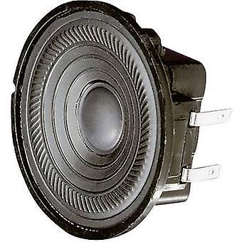 Visaton K 50 WP 2 inch 5 cm Wideband speaker chassis 2 W 8 Ω