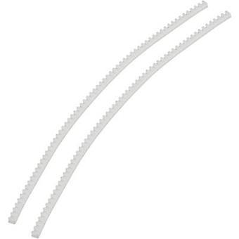 KSS 533679 reuna vartija läpinäkyvä 10 M (L x l x K) 10 m x 5,5 mm x 4 mm Läpinäkyvä (tiedot)-yhteensopiva 3,2 mm
