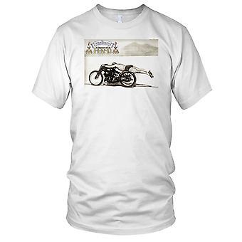 Vincent HRD Salt slettene klassiske motorsykkel Biker damer T skjorte