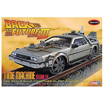 Snap Kit 1:25 Scale Model Back to the Future III Time Machine
