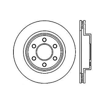 StopTech 127.63055L Sport Drilled/Slotted Brake Rotor (Front Left), 1 Pack