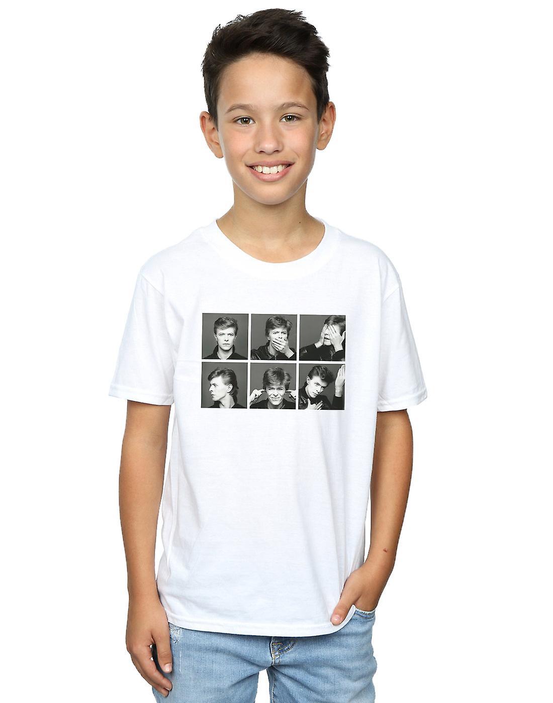 David Bowie Boys Photo Collage T-Shirt