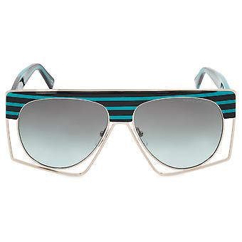 Marc Jacobs przewymiarowany okulary MJ312S PF3 IB 58