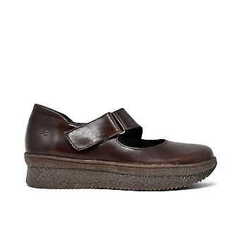 Liberitae shoes laces and Blucher shoe comfort Leather Brown 21803310-03