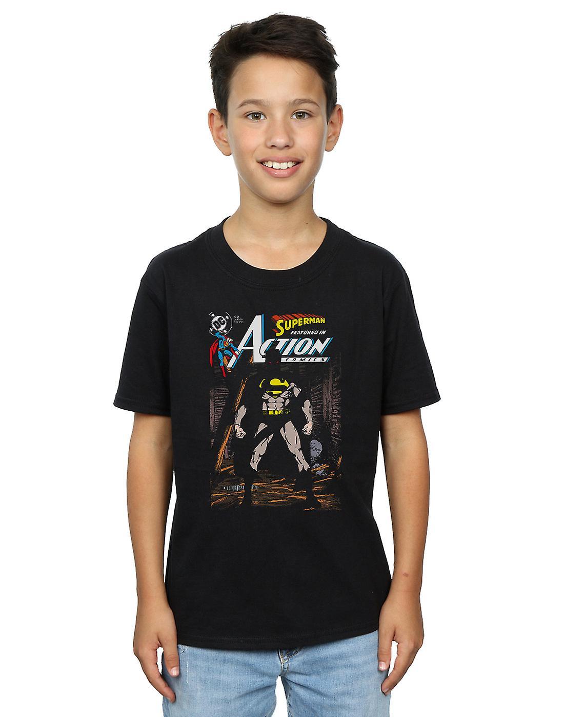 DC Comics Boys Superman Action Comics 644 Cover T-Shirt