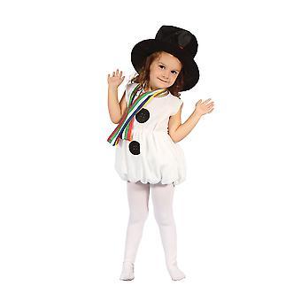 طفل فتاة الثلج