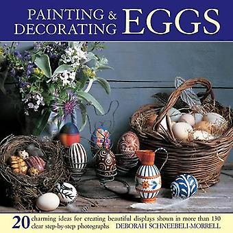 اللوحة & تزيين البيض-20 الأفكار الساحرة لخلق الجميلة