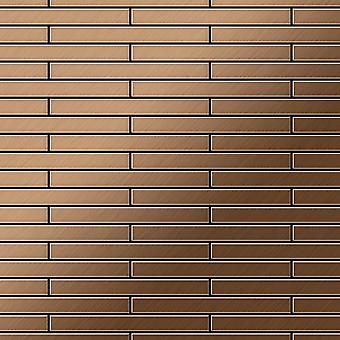 Kovová mozaika titanové slitiny DeeDee-ti-AB