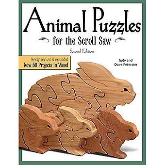 Puzzles animaux pour la scie à chantourner (scie à chantourner bois & livre des métiers d'art)