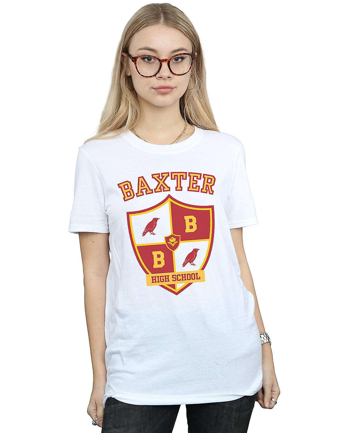 The Chilling Adventures Of Sabrina Women's Baxter Crest Boyfriend Fit T-Shirt