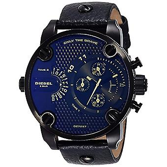 Diesel watch Chronograph quartz men's watch with leather DZ7257