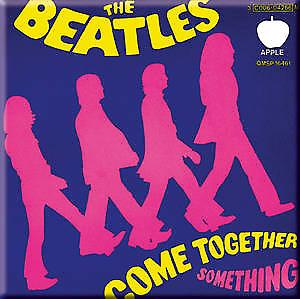 Signs Unique Beatles Come Together / Something fridge magnet (ro)