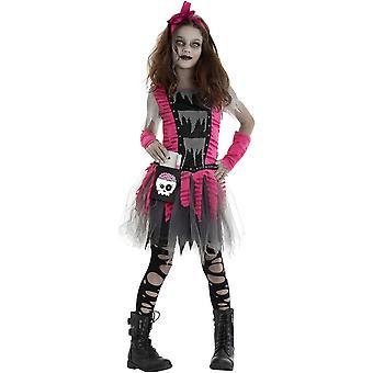 Zombie-Mädchen Kinderkostüm - 20929