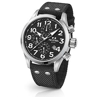 TW Steel Vs4 Volante Chronograph Watch 48 mm