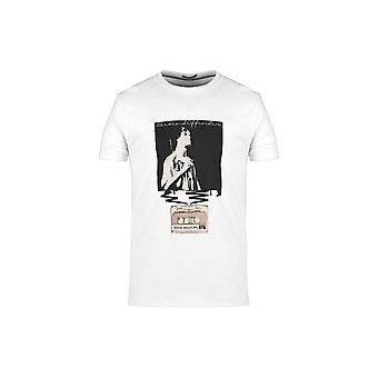 Weekend Offender King Monkey White T-shirt