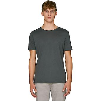 greenT Mens Organic Skates Long Length Casual Jersey T Shirt