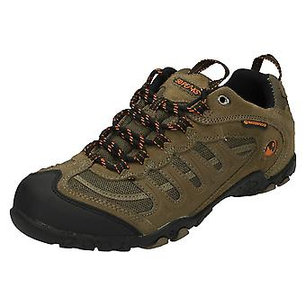 Mens 50 Peaks by Hi-Tec Waterproof Walking Trainers Penrith WP