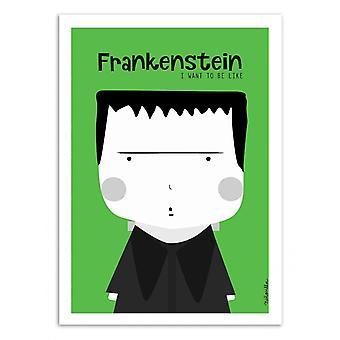 Art-Poster - Frankenstein - Ninasilla