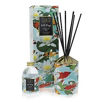 Ashleigh & Burwood Wild Things Luxury Scented Reed Diffuser Don't Be Koi - Moroccan Spice