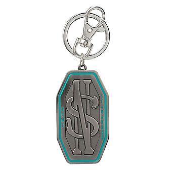 Metal Key Chain - Fantastic Beast - Scamander New Pewter Key Ring New 48157