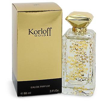 Korloff gold eau de parfum spray by korloff 544214 90 ml