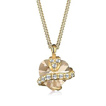 Goldhimmel 0110471912_45 - Female Pendant Chain - Gold Plated Silver - 450 mm