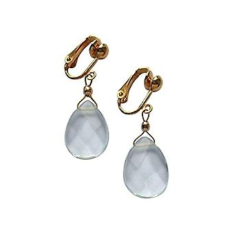 Gemshine Pendulum Earrings and Drop Gold-Plated Woman - Aguaclipo