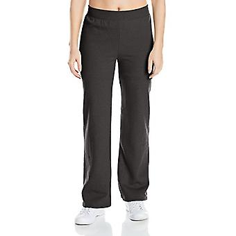 Hanes Women's Middle Rise Sweatpant, Abanoz, Orta