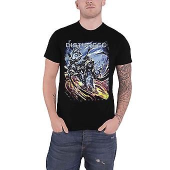 Disturbed T Shirt The End Band Logo new Official Mens Black