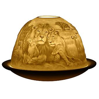 Light Glow Dome waxinelicht houder Safari