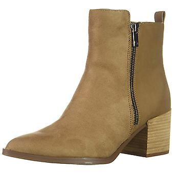 Madden Girl Womens Winwood Fabric Pointed Toe Ankle Chelsea Boots