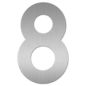 Nathan house number MIDI 8 stainless steel 64478-072