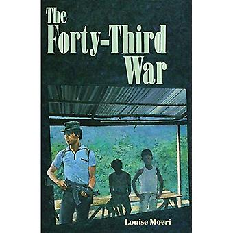 The Forty-Third War: Sandpiper Houghton Mifflin Books