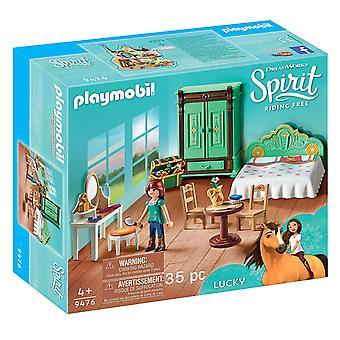 プレイモービルラッキー&アポス;sベッドルームおもちゃ (9476)